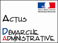 Actus démarches administratives