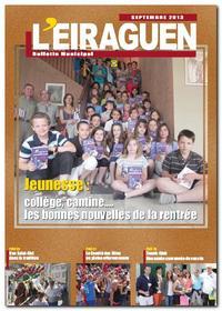 bulletin municipal l'Eiraguen septembre 2013