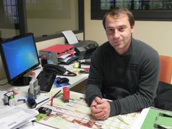 Fabrice Martins, urbanisme et travaux mairie d'Eyragues